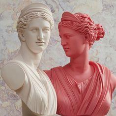 Michael Angelo, Greek Statues, Angel Statues, Roman Sculpture, Sculpture Art, The Journey, God Of War, Renaissance, Tattoo Sticker