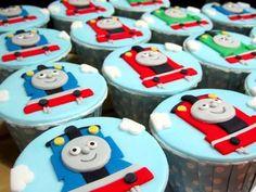 Ezra's Thomas the Tank Engine birthday party | CatchMyParty.com
