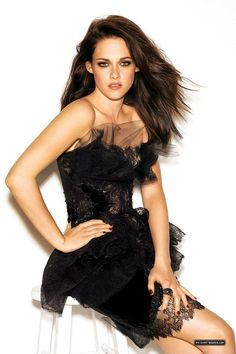 I am myself for myself and not for anybody else. -Kristin Stewart