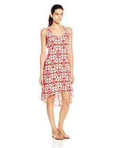 KAVU Womens Jocelyn Dress Firewater XSmall >>> See this great product. This is an Amazon Affiliate links.