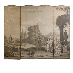 Zuber Wallpaper   From a unique collection of antique and modern wallpaper at https://www.1stdibs.com/furniture/wall-decorations/wallpaper/