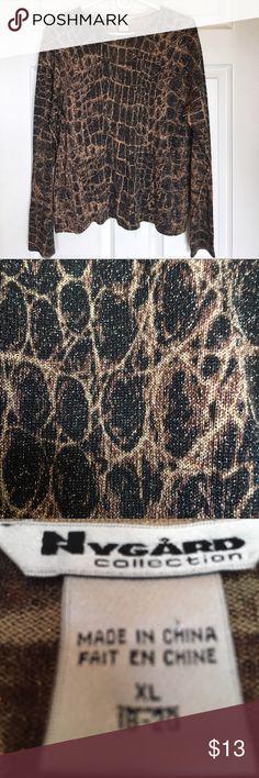 NYGARD COLLECTION SPARKLY POPOVER 🌺....SPARKLY Nygard Collection Tops