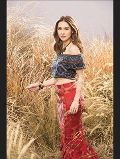 Filipiniana, Tie Dye Skirt, Hand Weaving, Bohemian, Textiles, Costumes, Silk, Skirts, Modern