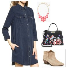 Fab from the Lab | Discovered Weekly « Mom Style Lab #70sfashion #spring2015 #denimdress #fashion #style #ootd @shopbop #fendi #katespade #joie http://momstylelab.com/fab-from-the-lab-discovered-weekly-48/