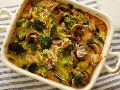 Broccoli Casserole recipe from Alton Brown via Food Network