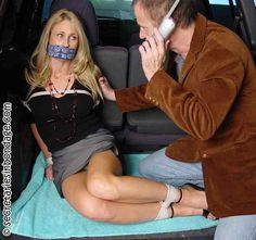 Mr Ramsey,  I have your pretty little wife bound and gagged in the baxk of my…