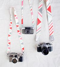 MAKE IT - cool DIY camera straps