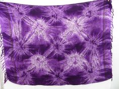 purple star burst tie dye sarong heppy apparel $4.95 - http://www.wholesalesarong.com/blog/purple-star-burst-tie-dye-sarong-heppy-apparel-4-95/