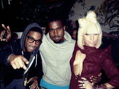 Kid Cudi, Kanye West & Lady Gaga