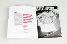 Brochure for Gjøvik University College by Henrik Steen Karlsen, via Behance