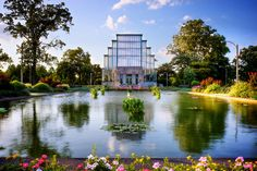 The Jewel Box at Forest Park - HDR - Around St. Louis - Photography by Randy Allen