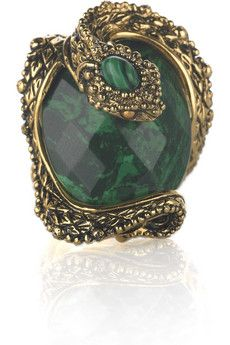 Roberto Cavalli  Stone and Serpent Ring