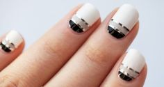 chic neutral nails