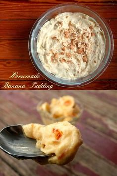 Old fashioned banana pudding made from scratch is so easy and so much better than the kind that begins with a box! Fun Desserts, Delicious Desserts, Dessert Recipes, Yummy Food, Homemade Banana Pudding, Banana Pudding Recipes, Pudding Desserts, Old Fashioned Banana Pudding, Old Fashioned Pudding Recipe