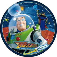Factory Card and Party Outlet Buzz Lightyear Lunch Plates Cumple Toy Story, Festa Toy Story, Toy Story Party, Toy Story Birthday, Imprimibles Toy Story, Party Express, Dragon Tales, Toy Story Buzz Lightyear, Bee Movie