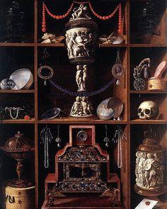 GEORG HAINZ, Cabinets of Curiosities 1666