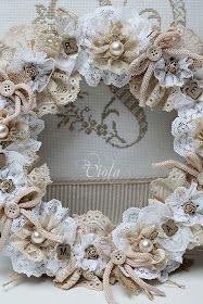 Wreath for bedroom
