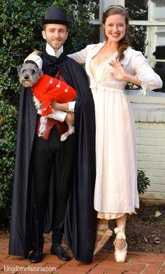 Couple or Family Halloween Costume The Nutcracker, Clara, and Drosselmeyer. Ballet