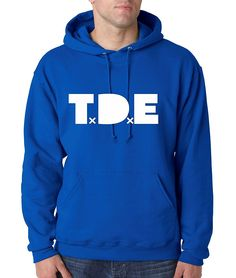 Allntrends Fashion Sweatshirt T.D.E Kendrick Lamar (Royal Blue) >>> Read more  at the image link.