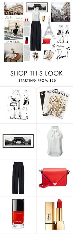 """""""In Paris"""" by stavrolga on Polyvore featuring Yoco Nagamiya, Assouline Publishing, Fremont, Iris & Ink, Alexander Wang, Prada, Tourne, Chanel, Yves Saint Laurent and Marc Jacobs"""