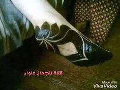 اشكال حنة سودانية بالنشادر في باطن الرجل اشكال حنه تحت القدم حنة