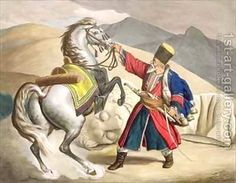Dupre, Louis:A Tatar with his Horse