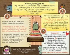 Morning Struggle # 3 Tidy up time... Why tidy up it's SO important, apart from the obvious reasons?