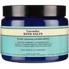 Buy Neal's Yard Organic Lavender Sea Salts, 500g Online at johnlewis.com