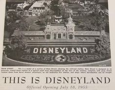 """1955 disneyland"" - Google Search"