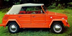 And let's complete the set with a Thing. VW's version of a jeep.