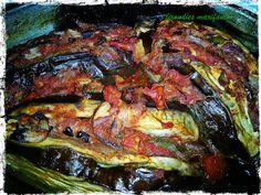 """Οι λιχουδιές της Μαριφάνης: Μελιτζάνες Ιμάμ """"πειραγμένες"""", μα πανάλαφρες σαν τ... Ratatouille, Ethnic Recipes, Food, Meals, Yemek, Eten"""
