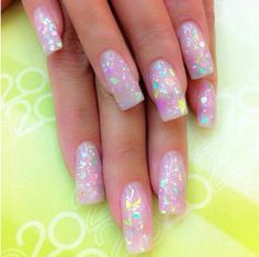 Omg moon candy nails love it!!!