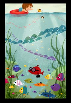 Hello Fish by Eren B. Unten, via Flickr