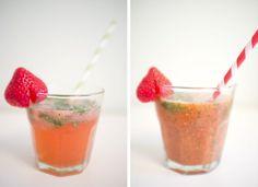 Cocktails à la fraise par Godiche #battlefood