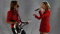 Keith Urban and Julia Michaels Premiere and Performs 'Coming Home' At AC...