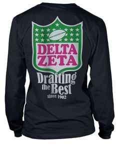Delta Zeta Bid Day T-shirt, I'm not a DZ, but this is really cute!