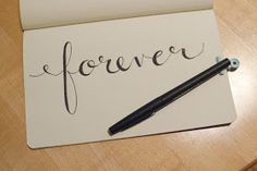 laura frances design blog: How To: Fake Calligraphy