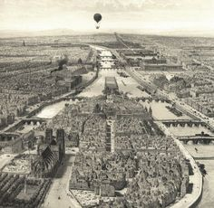 A show at the Pavillon de l'Arsenal in Paris explores the history of the Seine, its islands and the architectural and artistic works the river inspired. Vintage Paris, Old Paris, Arsenal, Old Pictures, Old Photos, Paris France, Art Mural, Wall Art, Saint Chapelle