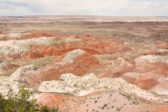 Painted Desert. Arizona.