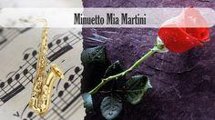 Partitura Minuetto Mia Martini Saxofón Tenor
