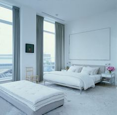 selldorf+architects+city+loft+bedroom+all+white+modern+clean+simple+cococozy.jpg 1,290×1,270 pixels