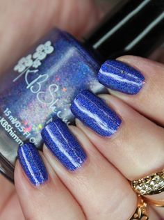 You want a pretty you say? Check out this stunning KBShimmer Bath and Body blurple linear Fun Nails, Nice Nails, Sugar Scrub Diy, Let It Shine, Rainbow Nails, Beauty Review, Polished Look, Holiday Nails, Manicure