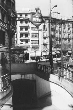 Madrid, Ferrocarriles y Transportes Urbanos: Estación de Chamberí, 50 años fuera de servicio