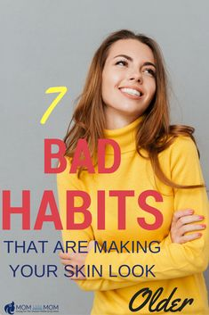 7 Bad Habits That Are Making Your Skin Look Old