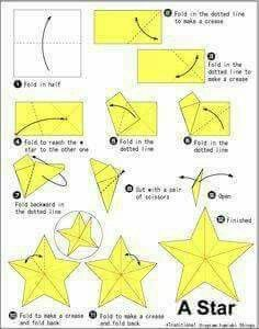 Origami Star – Start with any size square of midweight paper Origami Star St. - Origami Star – Start with any size square of midweight paper Origami Star Start with any size s - Origami Design, Instruções Origami, Origami Star Box, Origami Dragon, Origami Fish, Oragami Star, Origami Ideas, Origami Paper Size, Origami With Square Paper
