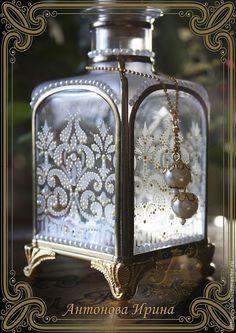 Флакон для духов-`Аромат`, для дома ручной работы.Антонова Ирина.Ярмарка Мастеров.