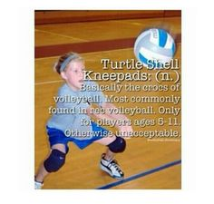 The crocs of volleyball...