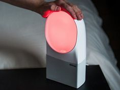This sleep tracking alarm clock, discovered by The Grommet, can restore your sleep cycles and wake you up with a silent alarm.