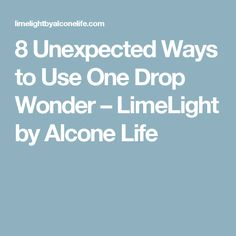 8 Unexpected Ways to