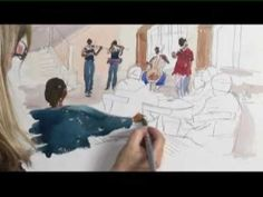 DVD - Improve Your Figures in Watercolour with Marilyn Allis